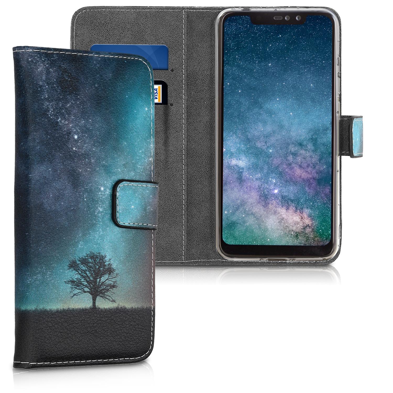 KW Θήκη - Πορτοφόλι Xiaomi Redmi Note 6 Pro - Galaxy Tree (46873.01)