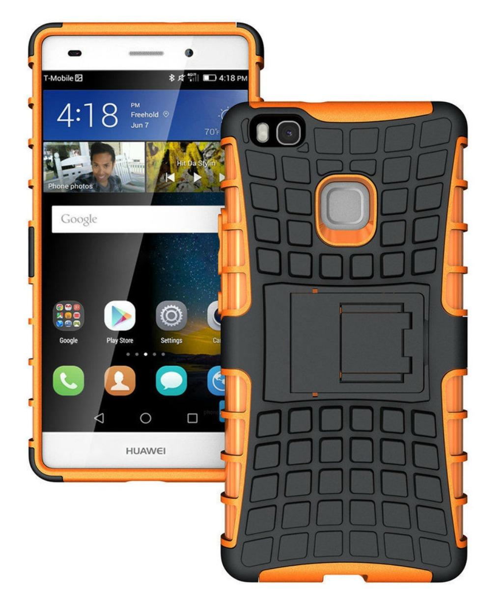 Ανθεκτική Θήκη Huawei P9 Lite (8278) Πορτοκαλί - OEM default category