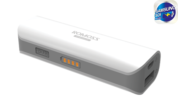 Φορητή Μπαταρία Φόρτισης (Power Bank) - 2600 mAh by Romoss - SAILING 1 default category