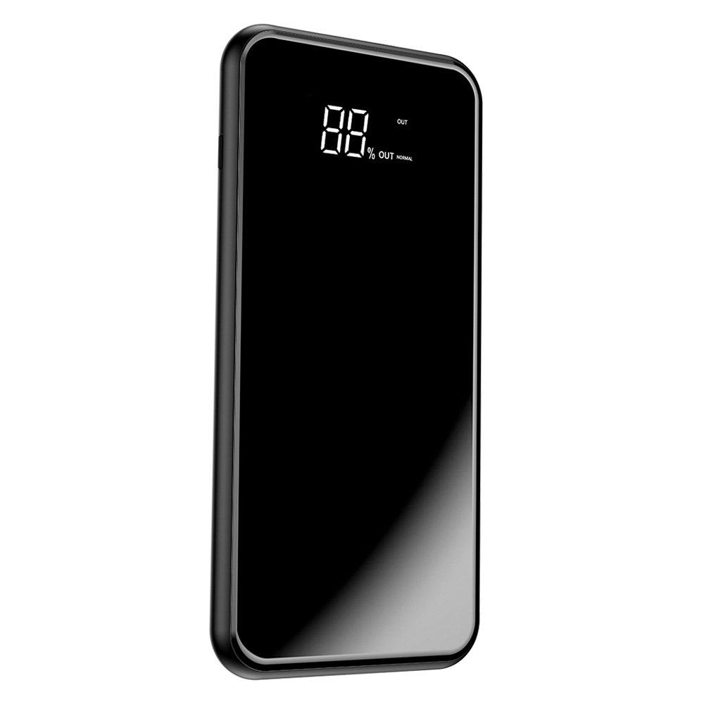 Baseus Wireless Charge Powerbank Qi 8000mAh - Φορητή Μπαταρία Ασύρματης Φόρτισης με Stand - Black (PPALL-EX01)