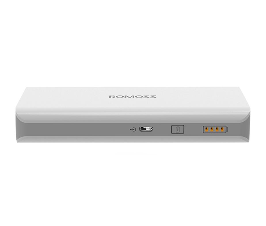Φορητή Μπαταρία Φόρτισης (Power Bank) - 16000 mAh by Romoss - SOLO 6