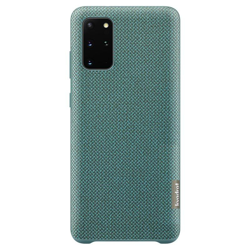 Official Samsung Kvadrat Σκληρή Θήκη Samsung Galaxy S20 Plus - Green (EF-XG985FGEGEU)