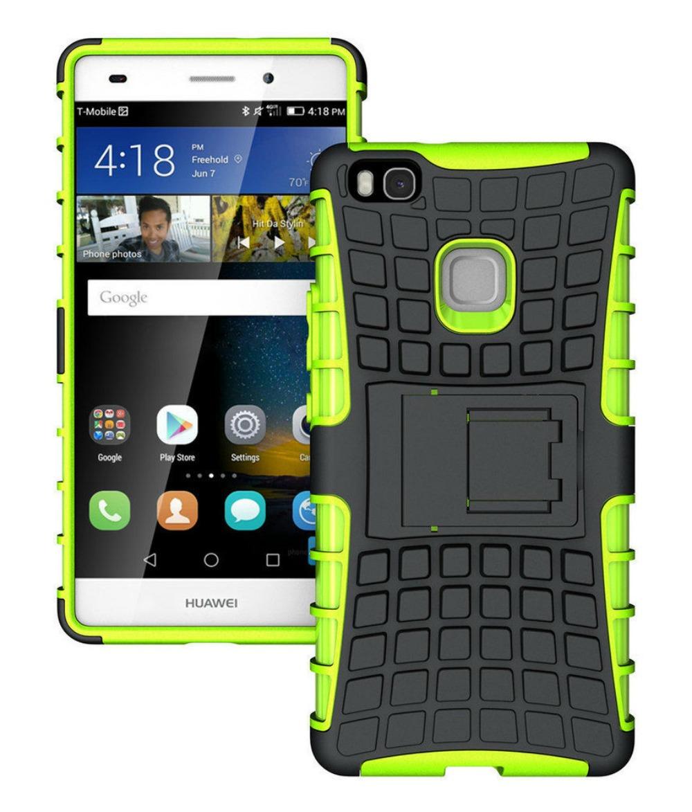 Ανθεκτική Θήκη Huawei P9 Lite (8281) Πράσινο - OEM default category