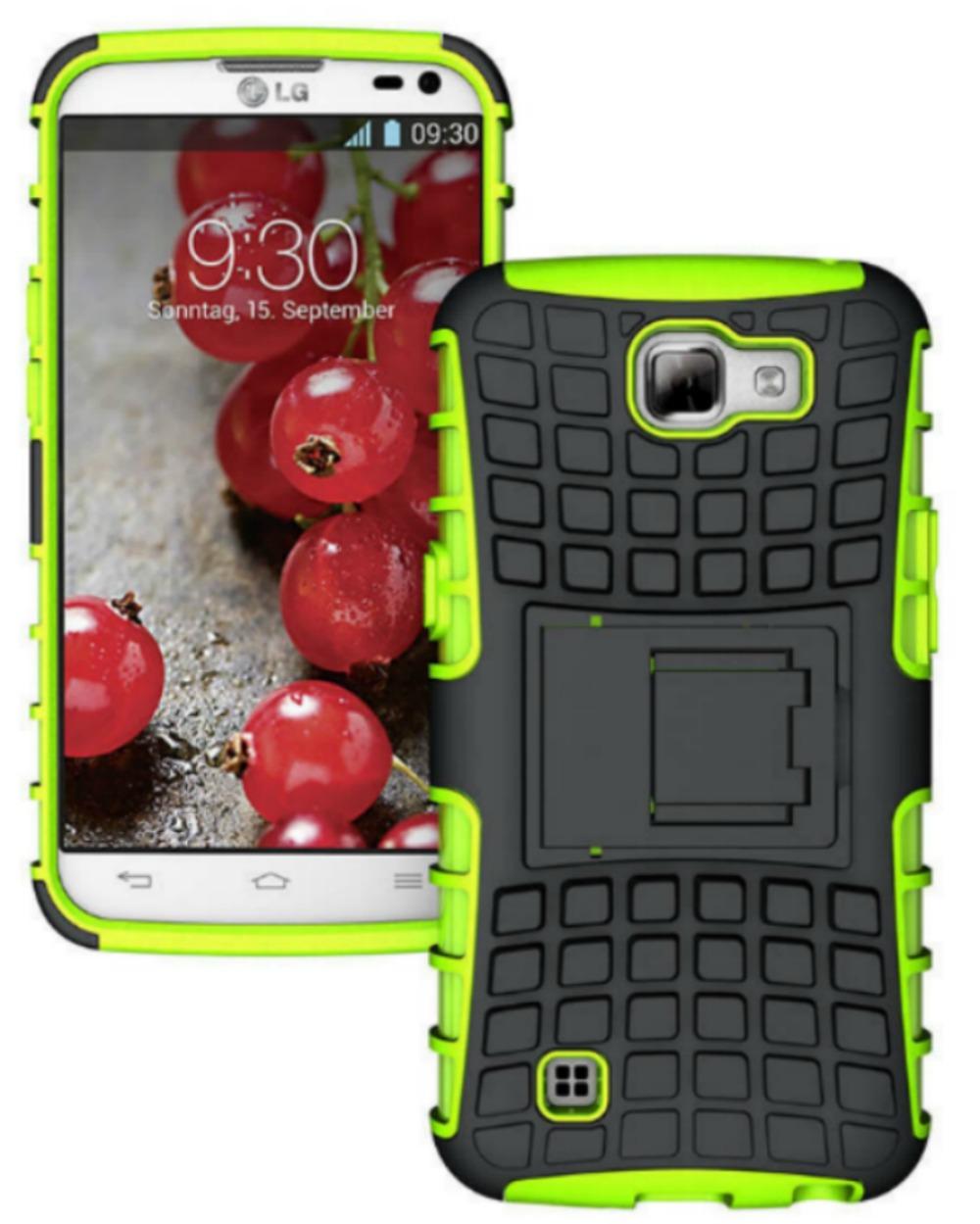 Ανθεκτική Θήκη LG K4 (8267) Πράσινο - OEM default category