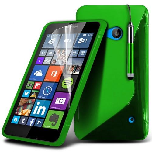 Θήκη Microsoft Lumia 640 - Green (018-116-603) - OEM