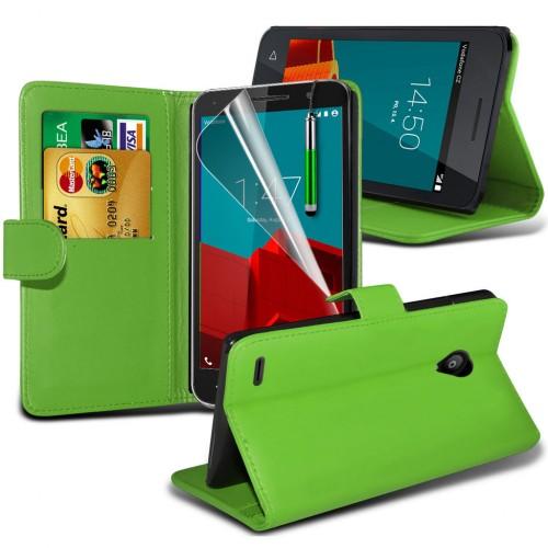 Θήκη Vodafone Smart Prime 6 - Πορτοφόλι (001-001-103) - OEM