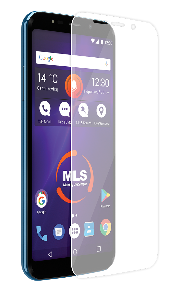 Protective Film - Μεμβράνη Προστασίας Screen Protector MLS MX Plus 4G  (11.QU.520.061)