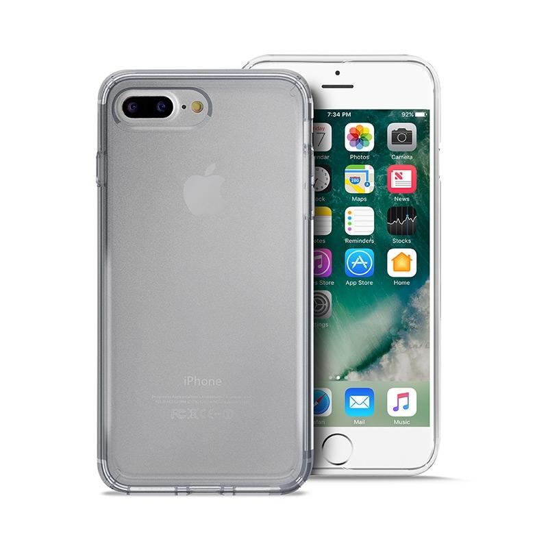 Puro Ultra Slim Θήκη Σιλικόνης iPhone 7 Plus / 8 Plus - Transparent (IPC75503NUDE-TR)