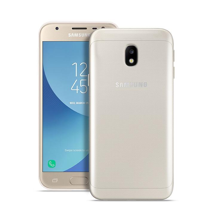 Puro Ultra Slim Θήκη Σιλικόνης Samsung Galaxy J3 2017 - Transparent (SGGJ31703NUDE-TR)