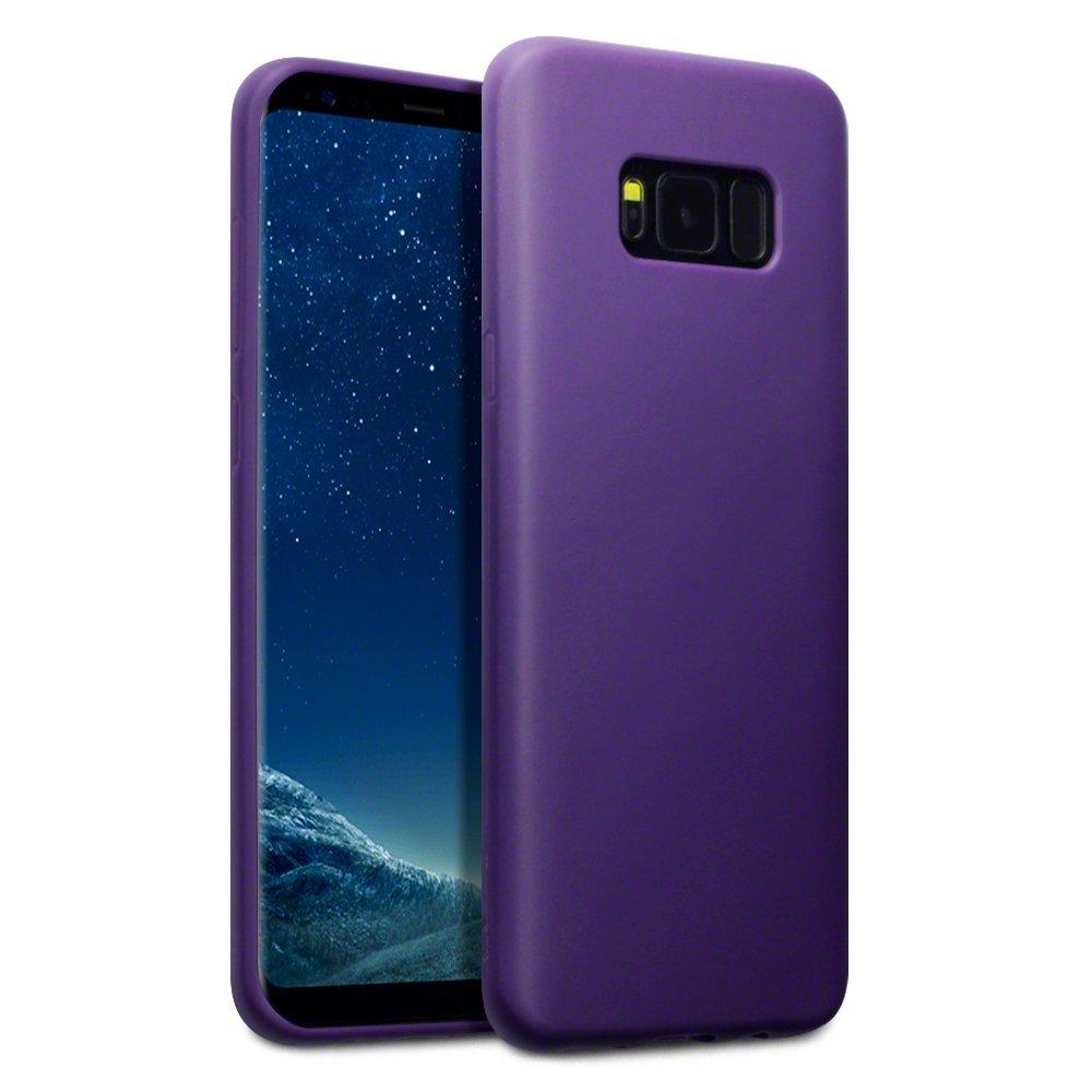 Terrapin Θήκη Σιλικόνης Samsung Galaxy S8 Plus - Purple Matte (118-002-618)