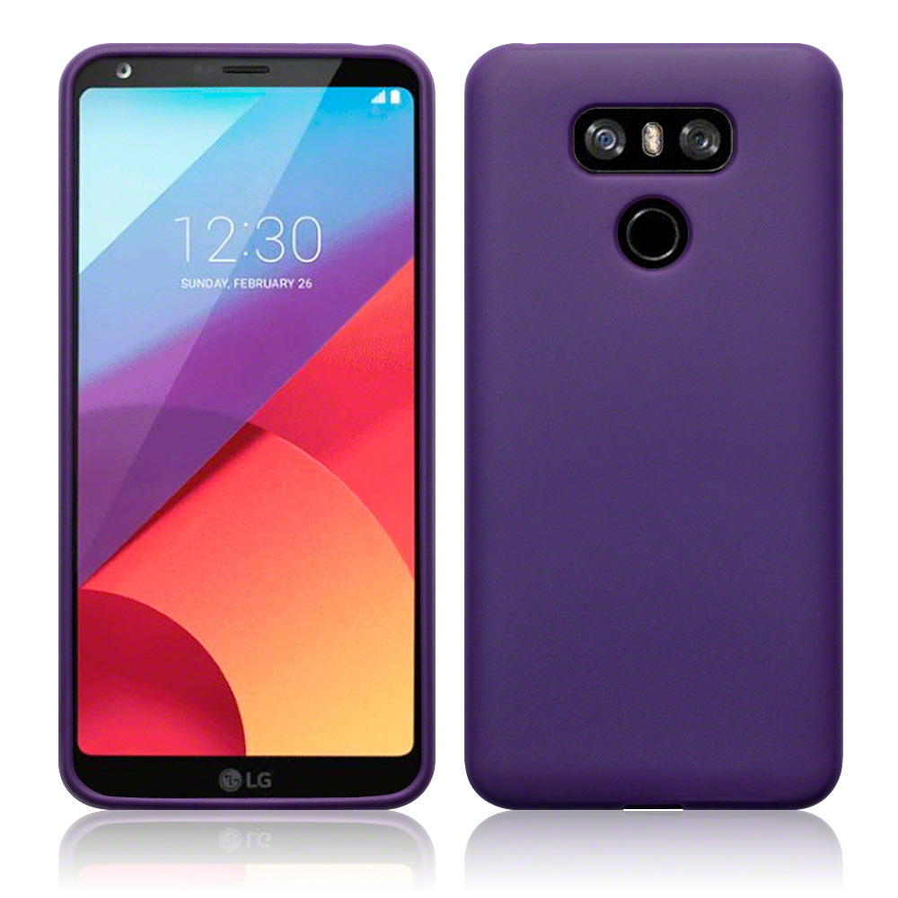 Terrapin Θήκη Σιλικόνης LG G6 - Purple Matte (118-014-103)