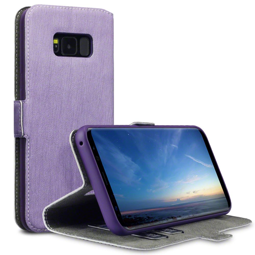 Terrapin Θήκη - Πορτοφόλι Samsung Galaxy S8 Plus - Purple (117-002-960)
