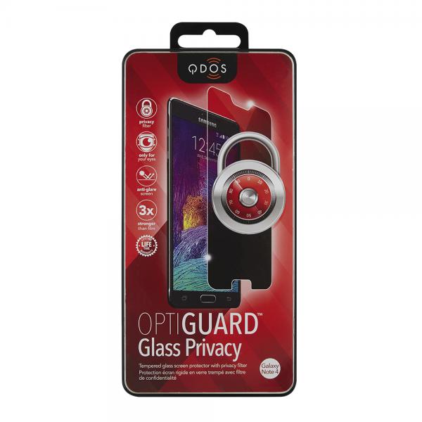QDOS OptiGuard Tempered Glass - Αντιχαρακτικό Γυάλινο Screen Protector Samsung Galaxy Note 4 (QD-SN421-TGPR)