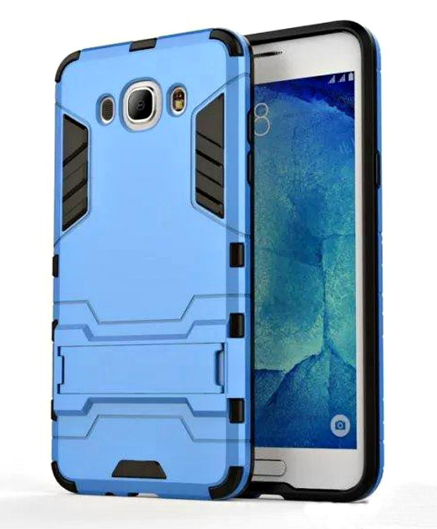 Ανθεκτική Θήκη με Stand Samsung Galaxy J5 (2016) - Blue (8864) - OEM