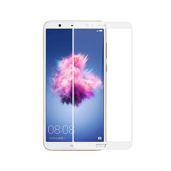 RedShield Tempered Glass - Fullface Αντιχαρακτικό Γυαλί Οθόνης Huawei P Smart - White (RSHITEMP42WH)