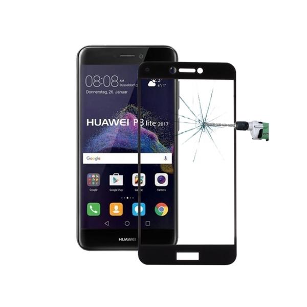 RedShield Tempered Glass - Fullface Αντιχαρακτικό Γυαλί Οθόνης Huawei P9 Lite 2017 - Black (RSHITEMP2BK)