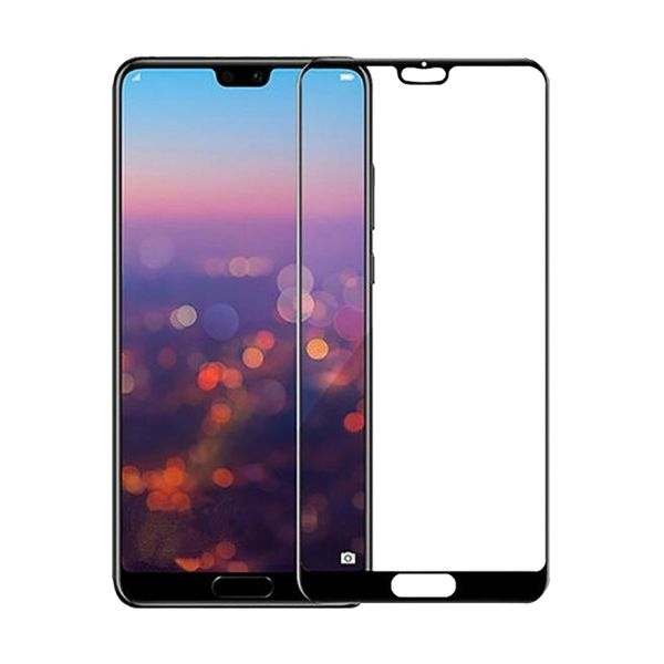 RedShield Tempered Glass - Fullface Αντιχαρακτικό Γυαλί Οθόνης Huawei P20 Pro - Black (RSHITEMP44BK)