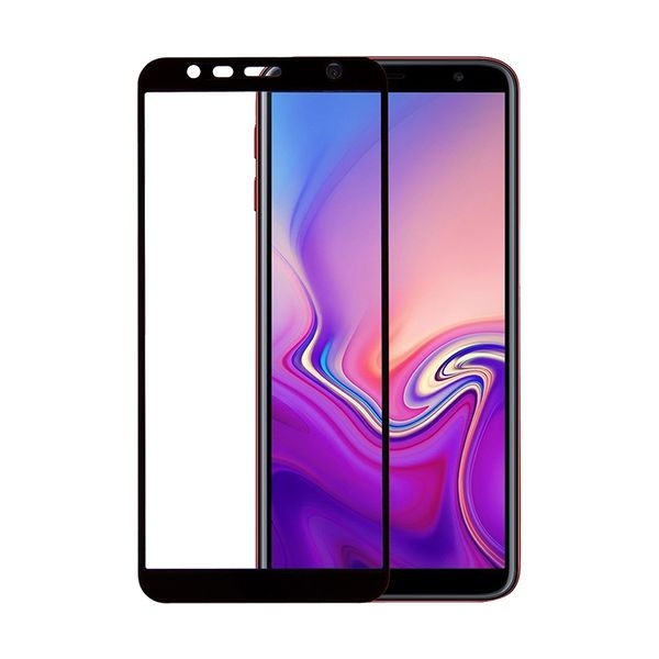 RedShield Tempered Glass - Fullface Αντιχαρακτικό Γυαλί Οθόνης Samsung Galaxy J4 Plus / J6 Plus - Black (RSHITEMP60BK)