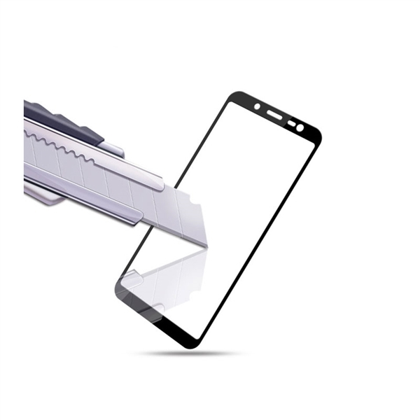 RedShield Tempered Glass - Fullface Αντιχαρακτικό Γυαλί Οθόνης Samsung Galaxy J6 - Black (RSHITEMP50BK)