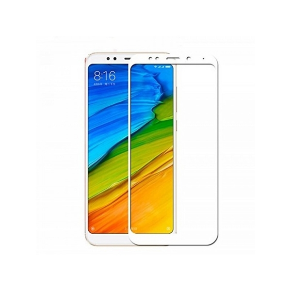 RedShield Tempered Glass - Fullface Αντιχαρακτικό Γυαλί Οθόνης Xiaomi Redmi 5 Plus - White (RSHITEMP38WH)