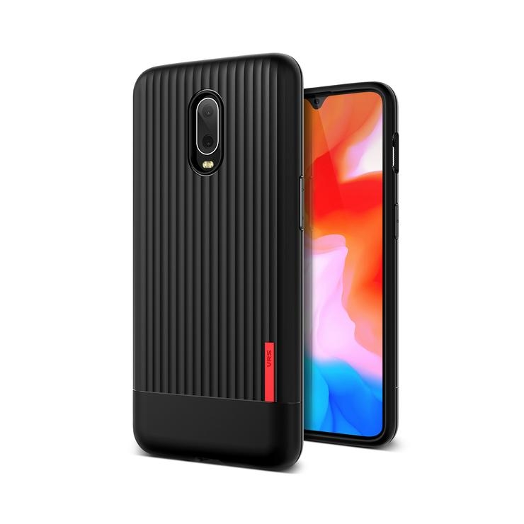 VRS Design Θήκη Single Fit Label OnePlus 6T - Black (VRS-OP6T-SFL-BLK)