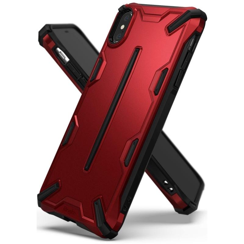 Ringke Dual X Θήκη iPhone XS Max - Iron Red (14399)