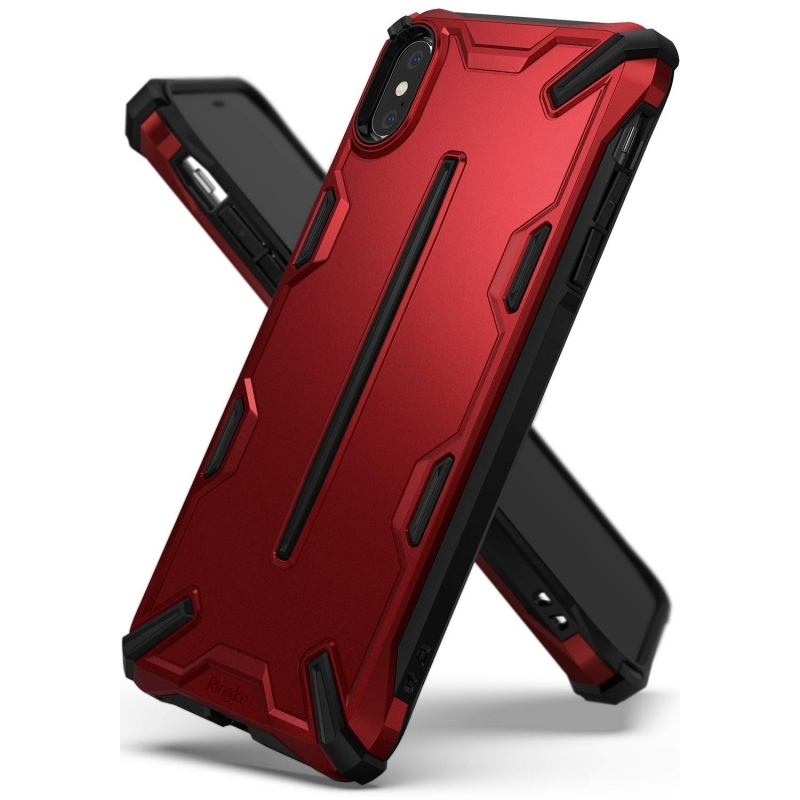 Ringke Dual X Θήκη iPhone X / XS - Iron Red (14398)