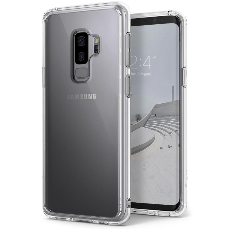 Ringke Fusion Θήκη με TPU Bumper Samsung Galaxy S9 Plus - Clear (12563)