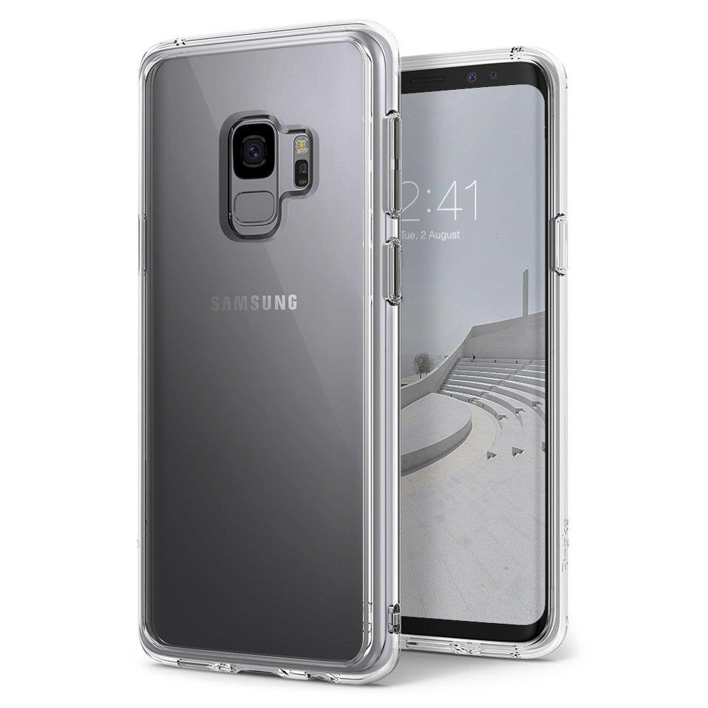 Ringke Fusion Θήκη με TPU Bumper Samsung Galaxy S9 - Clear (65158)