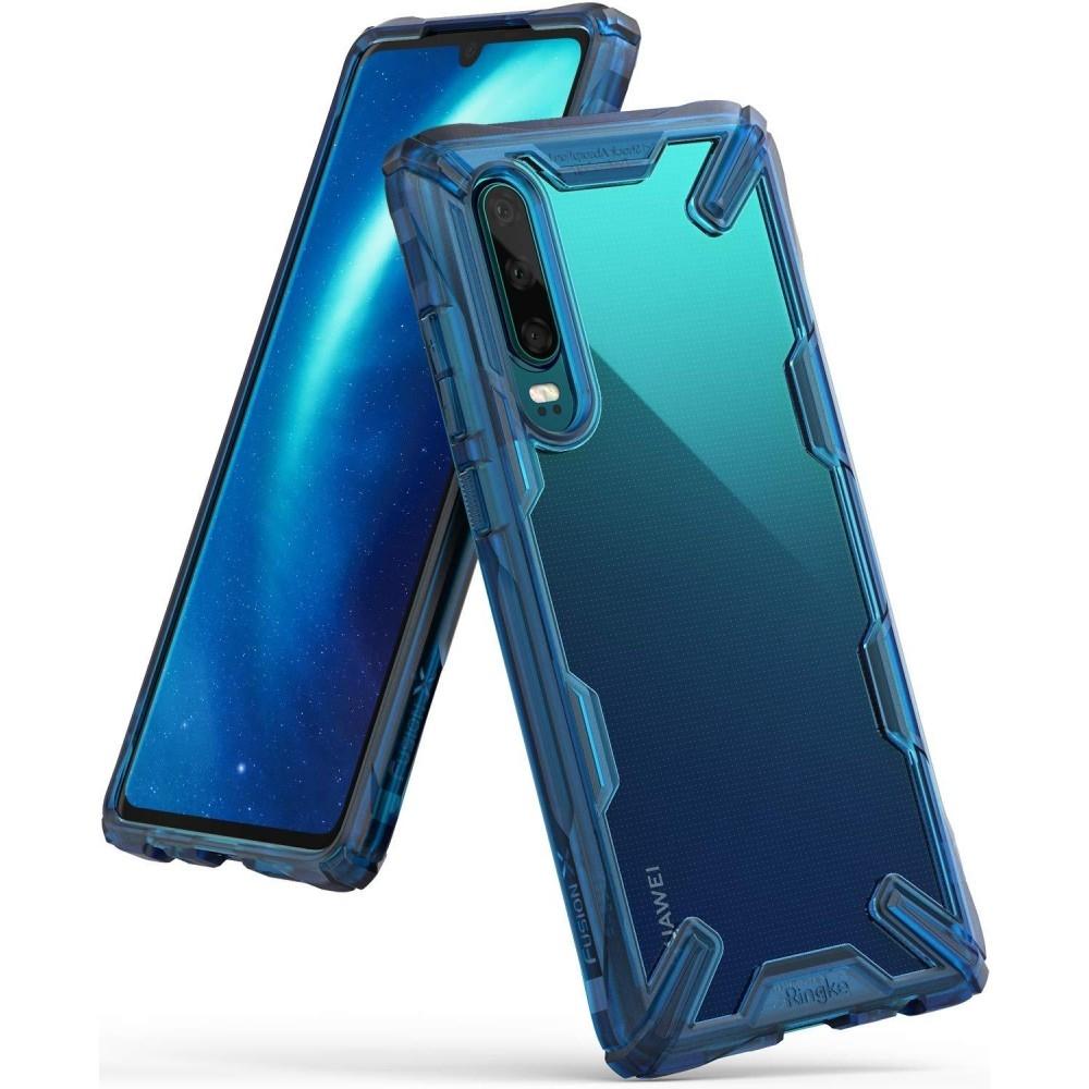 Ringke Fusion-X Θήκη Huawei P30 - Space Blue (46103)