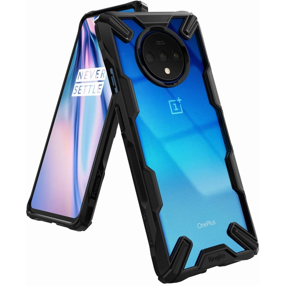 Ringke Fusion-X Θήκη OnePlus 7T - Black (58506)