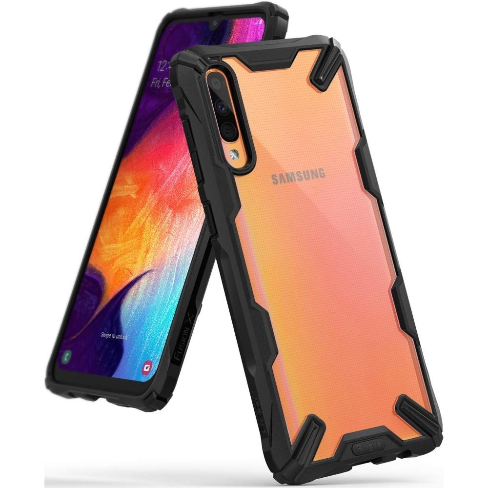 Ringke Fusion-X Θήκη Samsung Galaxy A50 - Black (47743)