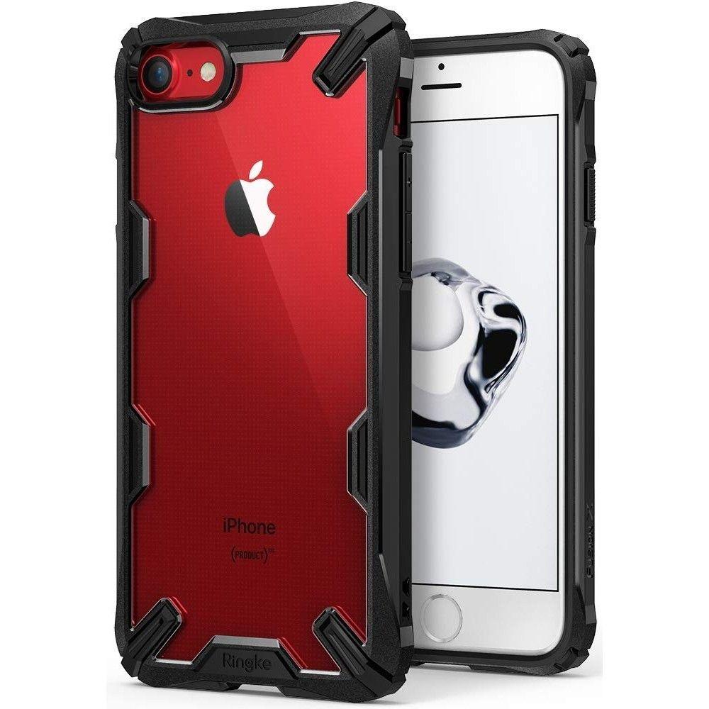 Ringke Fusion X Θήκη Σιλικόνης iPhone 7 / 8 - Black (53922)