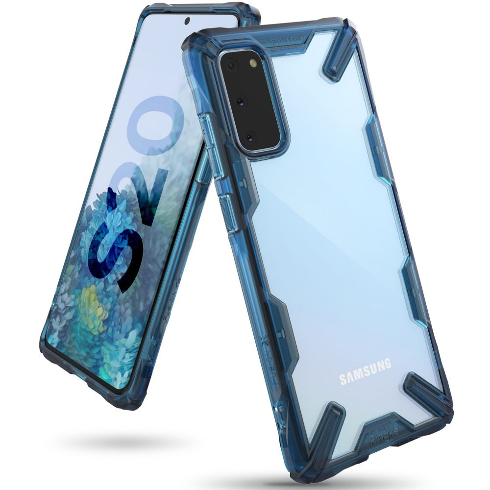Ringke Fusion X Θήκη Σιλικόνης Samsung Galaxy S20 - Space Blue (64330)