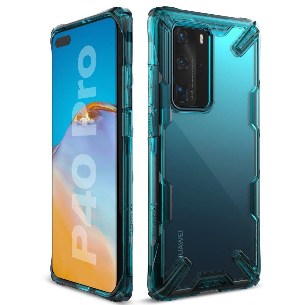 Ringke Fusion X Θήκη Σιλικόνης Huawei P40 Pro - Turquoise (64600)
