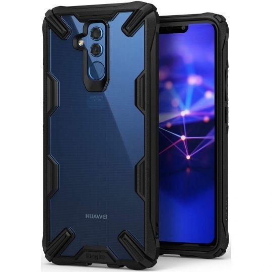 Ringke Fusion-X Θήκη Huawei Mate 20 Lite με TPU Bumper - Black (14635)