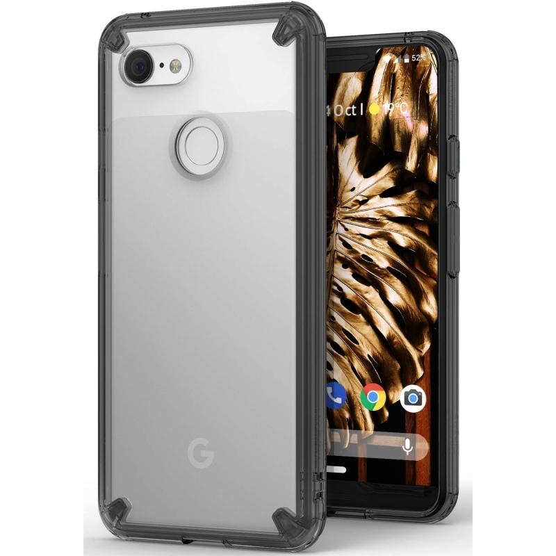 Ringke Fusion Θήκη με TPU Bumper Google Pixel 3 XL - Smoke Black (14697)