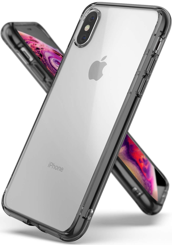 Ringke Fusion Θήκη με TPU Bumper iPhone Χ / XS - Smoke Black (14633)