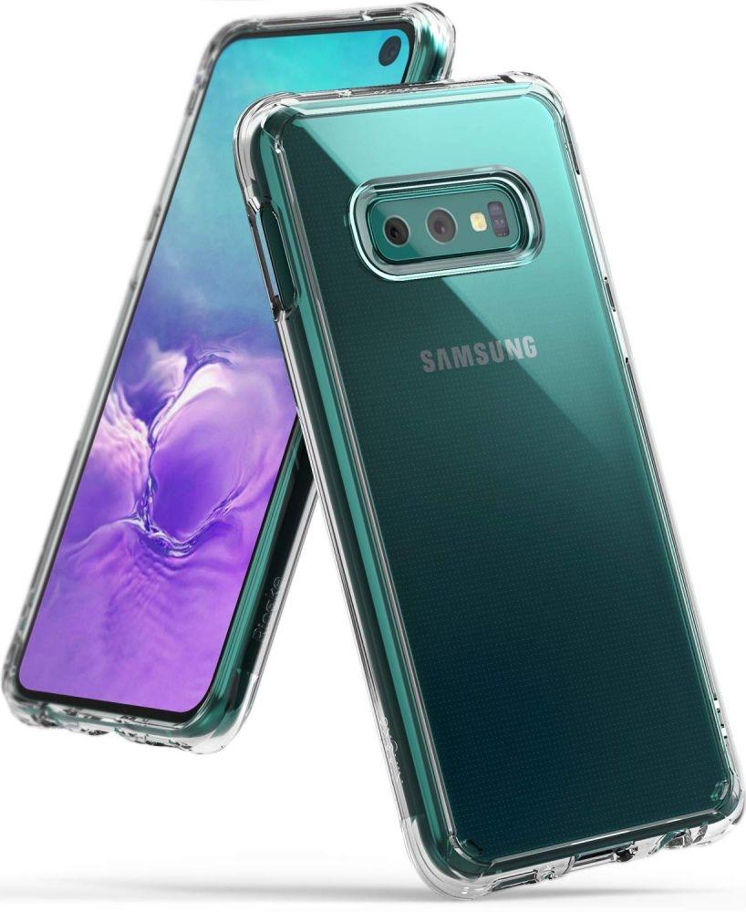 Ringke Fusion Θήκη με TPU Bumper Samsung Galaxy S10e - Clear (45597)