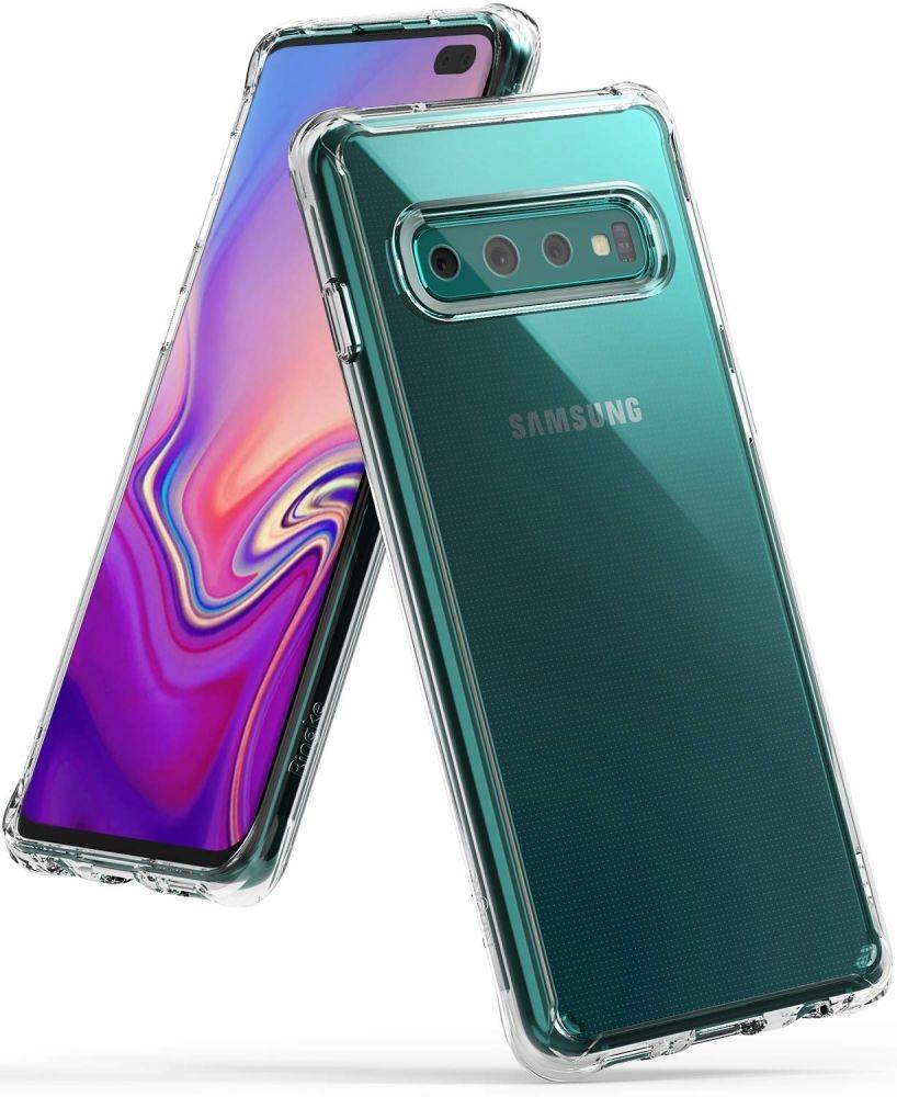 Ringke Fusion Θήκη με TPU Bumper Samsung Galaxy S10 Plus - Clear (45709)