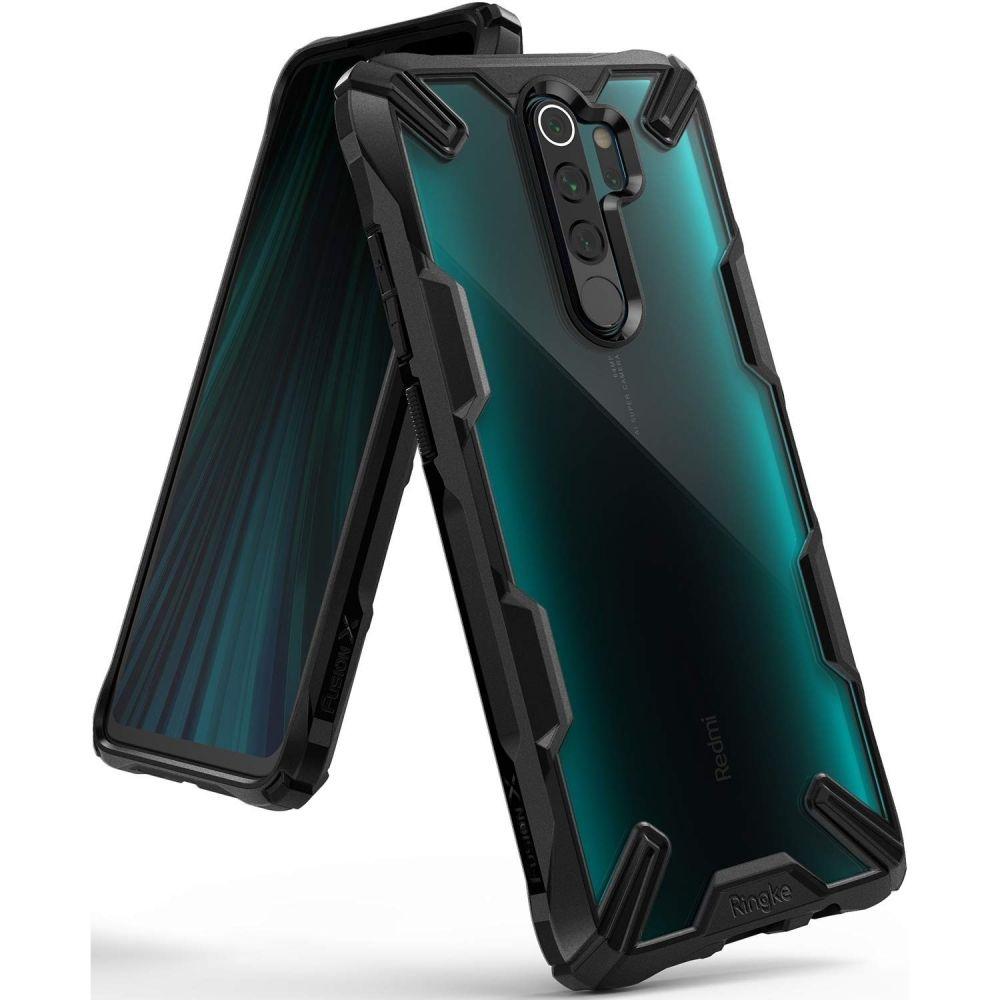 Ringke Fusion X Θήκη Σιλικόνης Xiaomi Redmi Note 8 Pro - Black (58151)