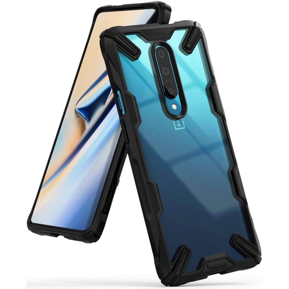Ringke Fusion-X Θήκη OnePlus 7 Pro - Black (48650)