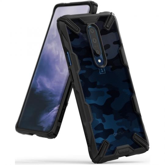 Ringke Fusion-X Θήκη OnePlus 7 Pro - Camo Black (49065)