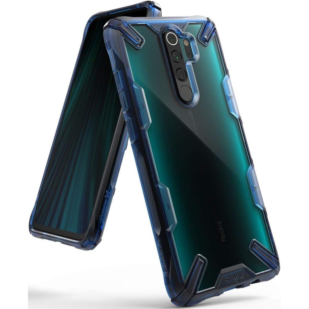 Ringke Fusion X Θήκη Σιλικόνης Xiaomi Redmi Note 8 Pro - Space Blue (58148)