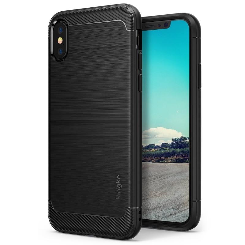Ringke Onyx Θήκη iPhone XS Max - Black (14013)