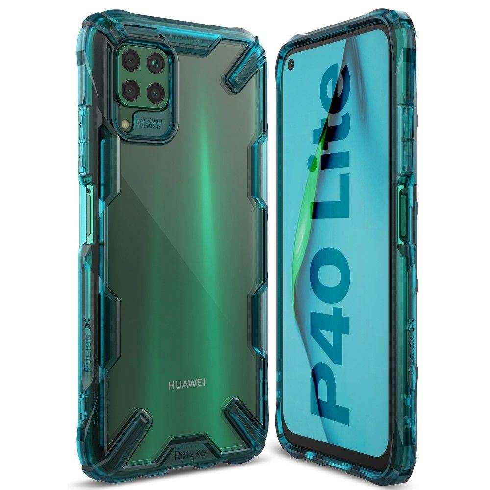 Ringke Fusion X Θήκη Σιλικόνης Huawei P40 Lite - Turquoise Green (63884)