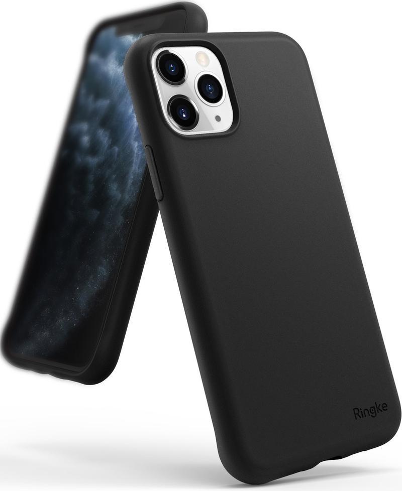 Ringke Air S Θήκη Σιλικόνης iPhone 11 Pro Max - Black (30035425165415)
