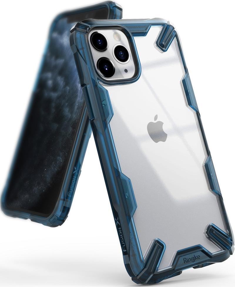 Ringke Fusion X Θήκη Σιλικόνης iPhone 11 Pro Max - Space Blue (29958869221479)