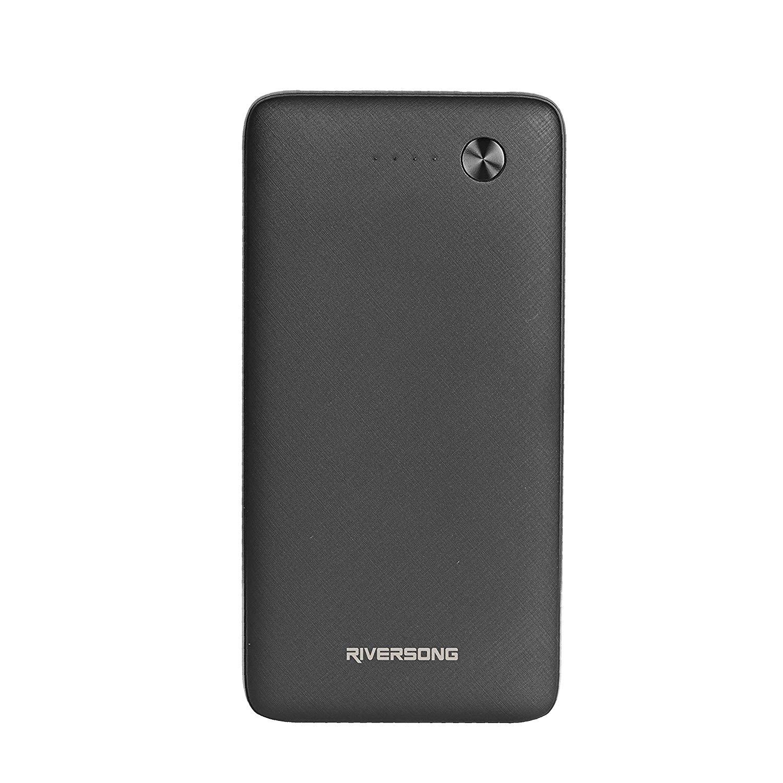 Riversong Powerbank Φορητή Μπαταρία Φόρτισης - 20000mAh - Black (PB31)