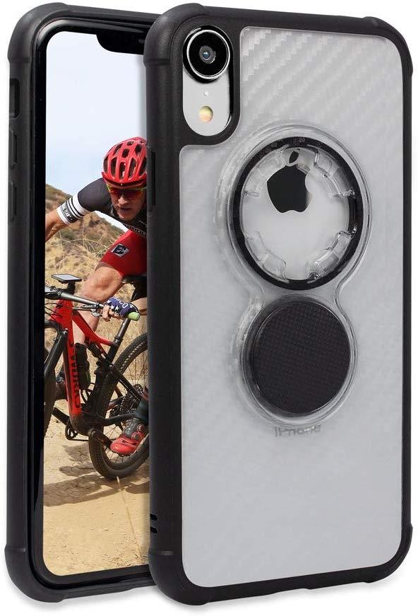 Rokform Rugged Θήκη iPhone XR με Μαγνητική Βάση Αυτοκινήτου - Crystal Clear (305220P)